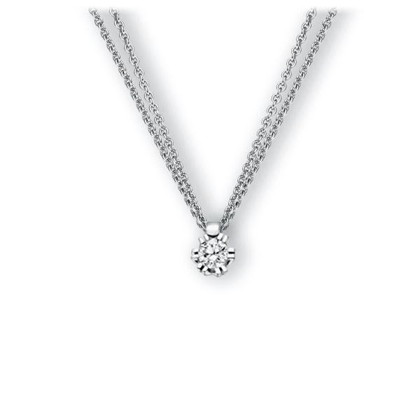 Collier in witgoud 14 kt. met 0,3 ct. Briljant tw,vs van Eternal Touch - E-3WINX-WW5-1IV54LZ